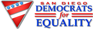 Democrats for Equality logo